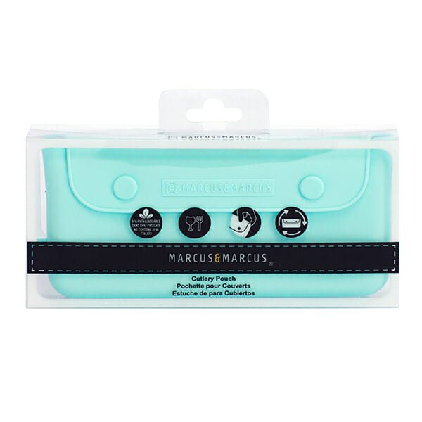 Marcus Marcus Blue Cutlery Pouch perfect accessory to go with your cutlery sets.