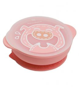 Marcus Marcus POKEY PINK PIGLET Suction Bowl very cute colour and friendly design.