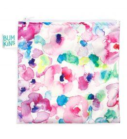 Bumkins Large reusable snack bag Watercolour