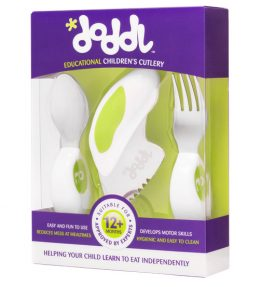 Doddl Utensil Set – Lime Green