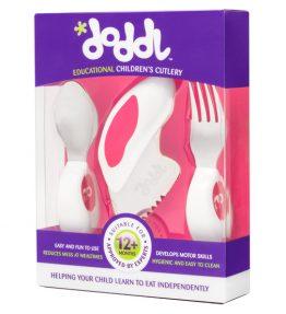 Doddl Utensil Set - Spoon, Fork & Knifes