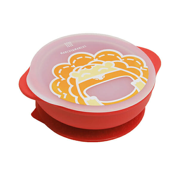 marcus marcus suction bowl with lid marcus red lion
