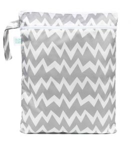 Bumkins Wet Bag (Available in different colours) – Grey Chevron