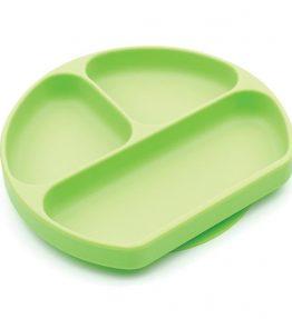 bumkins grip dish green
