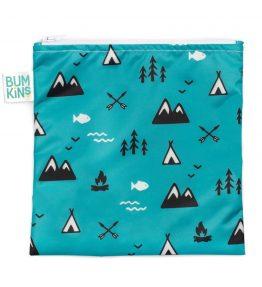 Bumkins Reusable Snack Bag outdoors