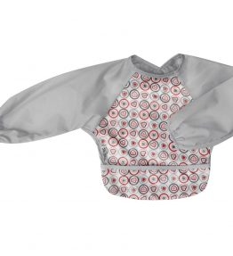 Silly Billyz Long Sleeved bibs - Heart