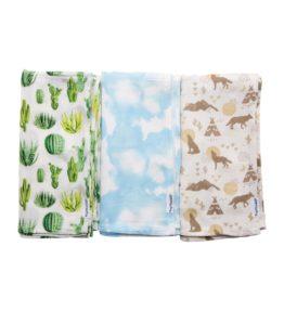 Kaffl Swaddle Blanket 3PK